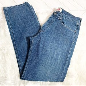 Levi's 501 Original Straight Fit Jeans Button Fly